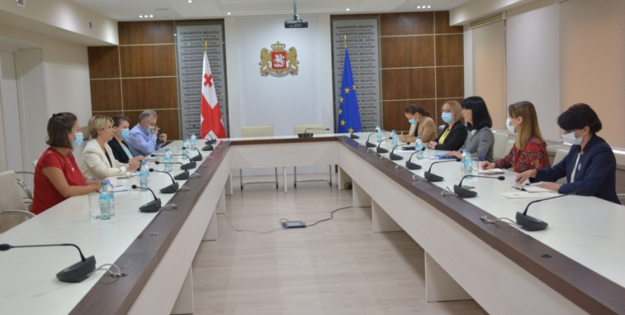 Public Defender Meets with State Minister for Reconciliation and Civic Equality