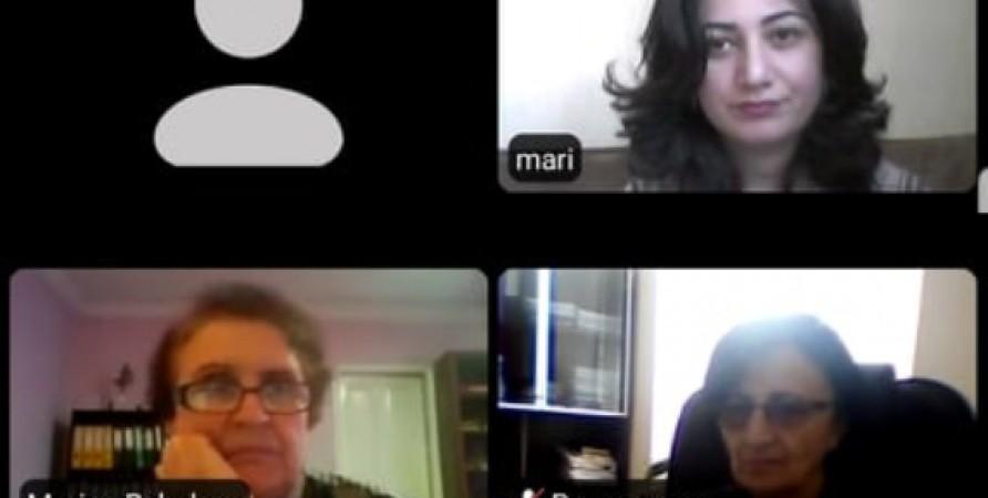 Առցանց հանդիպումներ Մառնեուլիի և Բոլնիսիի քաղաքապետարանների գենդերային հավասարության խորհրդի անդամների հետ