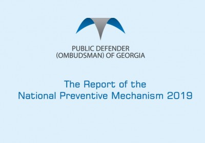 The Report of the National Preventive Mechanism 2019