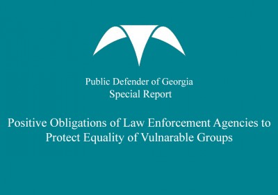 Public Defender's Report on Obligations of Law Enforcement Officers to Protect Equality