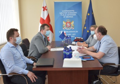 Արտակարգ դիտարկման այցի շրջանակներում, խոշտանգումների կանխարգելման եվրոպական հանձնաժողովի (CPT) հանդիպումը ժողովրդական պաշտպանի գրասենյակում