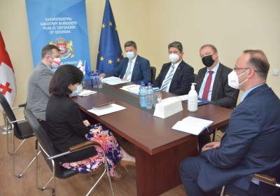 სახალხო დამცველის მოადგილეები ევროპის საბჭოს საპარლამენტო ასამბლეის მონიტორინგის კომიტეტის წევრებს შეხვდნენ
