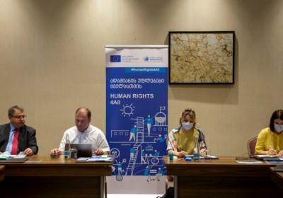 Միջոցառում, Վրաստանում մարդու իրավունքների պաշտպանության անկախ պետական հաստատությունների համագործակցության և ամրապնդման համար
