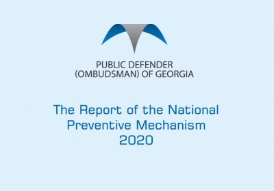 The Report of the National Preventive Mechanism 2020