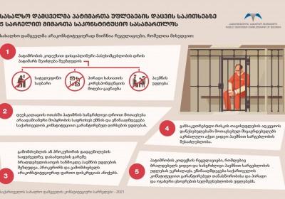 Վրաստանի ժողովրդական պաշտպանը բանտարկյալների իրավունքների պաշտպանության հարցով դիմել է Սահմանադրական դատարան
