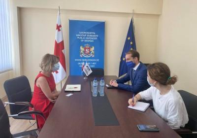 Meeting with Acting EU Ambassador