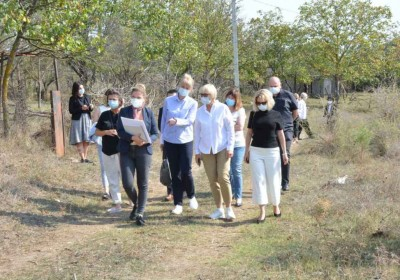 Georgian and Ukrainian Ombudsmen Visit Khurvaleti Village along Occupation Line