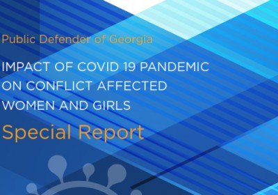 IMPACT OF COVID 19 PANDEMIC ON CONFLICT AFFECTED WOMEN AND GIRLS