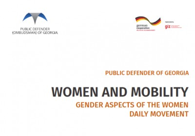 WOMEN AND MOBILITY - GENDER ASPECTS OF THE WOMEN DAILY MOVEMENT