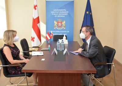 Meeting with Ambassador of Austria