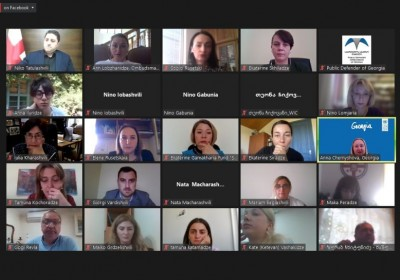 Online Conference on Impact of COVID-19 on Conflict-Affected Women and Girls