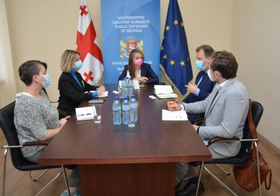 Meeting with Representatives of Office of OSCE High Commissioner on National Minorities