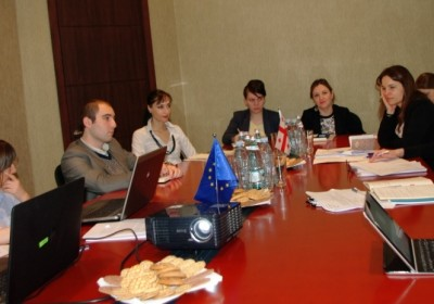 EU Expert Assessment Mission Visits the Public Defender's Office