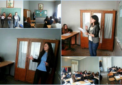 Trainings on Discriminitation at Schools