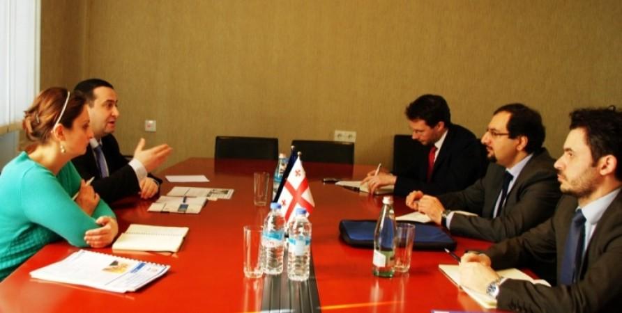 შეხვედრა ევროპის საბჭოს დელეგაციის წევრებთან