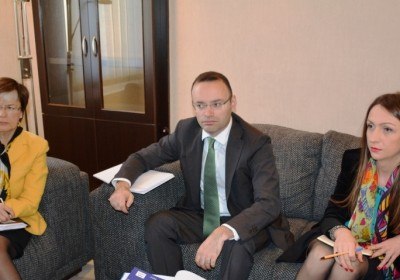 The Public Defender met with the OSCE High Commissioner on National Minorities
