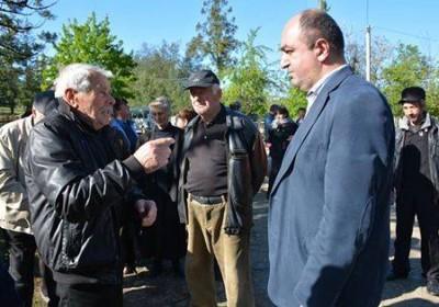 Public Defender Meets Lanchkhuti Residents