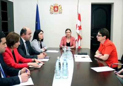 Meeting of the Public Defender with the Chairperson of the Supreme Court