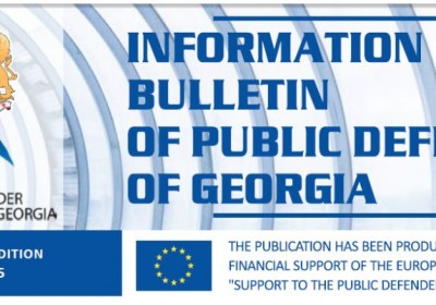 Bulletin, Periodic Edition – April, 2015