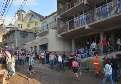Public Defender Representatives Visited Families Afflicted by the Disaster