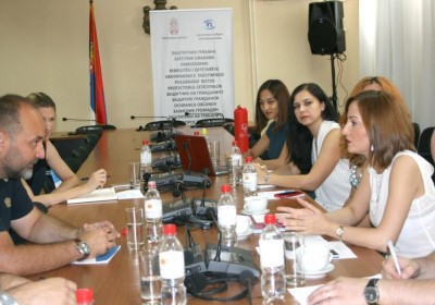 Representatives of Public Defender's Office pay training visit to Serbia