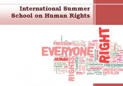 ადამიანის უფლებების საზაფხულო სკოლა სტამბულში