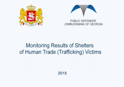 Monitoring Results of Shelters of Human Trade (Trafficking) Victims