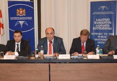 სახალხო დამცველის შეხვედრა დიპლომატიური კორპუსისა და საერთაშორისო ორგანიზაციების წარმომადგენლებთან