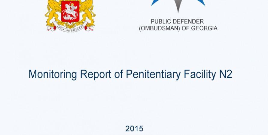 Monitoring Report of Penitentiary Facility N2