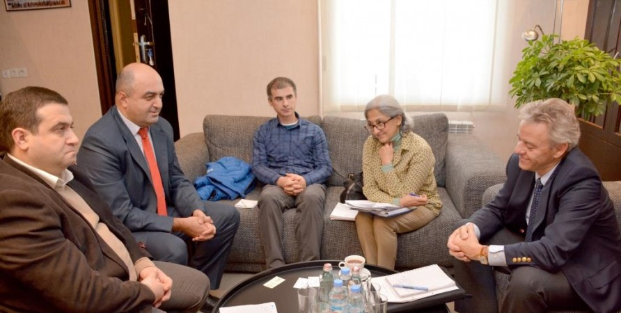Public Defender's Meeting with Monitoring Mission of UNHCR Activities in the South Caucasus