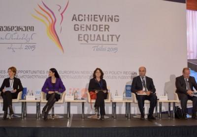 საქართველოს სახალხო დამცველი გენდერული თანასწორობის საკითხებზე გამართულ საერთაშორისო კონფერენციაზე სიტყვით გამოვიდა