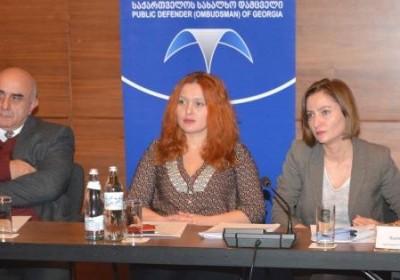 Roundtable on Constitutional Court's Decision of 15 September in Giorgi Ugulava's Case
