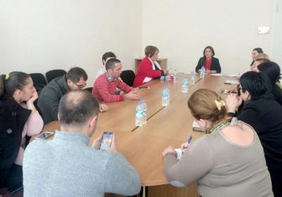 Informational Meetings in Regions