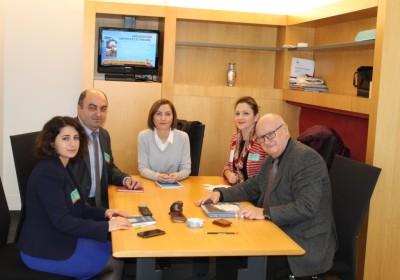 Public Defender's Meetings in European Parliament
