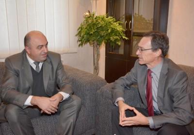 Public Defender meets with Swiss Ambassador