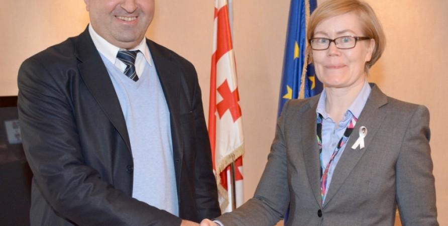 Meeting with Ambassador of Sweden