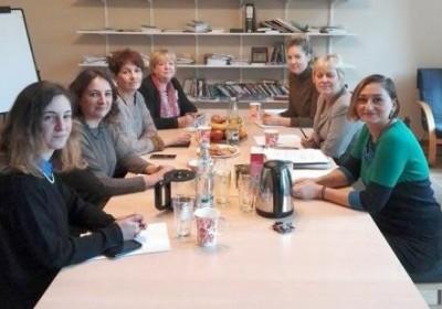 """შეხვედრა შვედური ფონდის """"ქალები ქალებისთვის"""" გენერალურ მდივანთან"""