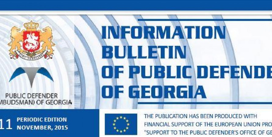 Bulletin, Periodic Edition – November, 2015
