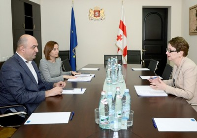 Public Defender Meets Chairperson of Supreme Court and High Council of Justice