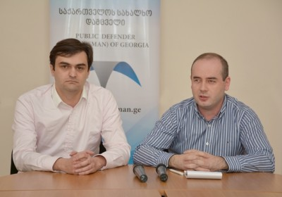 Head of Regional Department of Public Defender's Office Presents Head of Samegrelo Zemo-Svaneti Division to Local Media