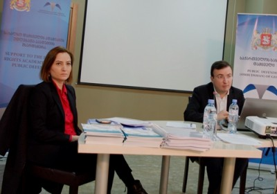 Human Rights Academy of the Public Defender Holds Training for Employees of Prosecutor's Office