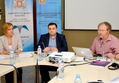 Training Held by Human Rights Academy of the Public Defender