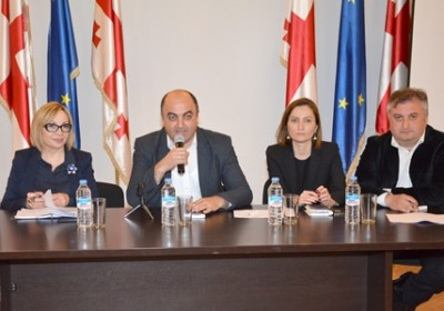 Meeting of Council of National Minorities with Deputy Minister of Education and Science