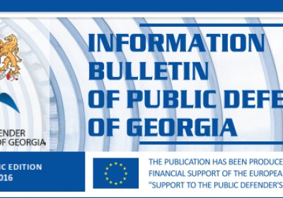 Bulletin, Periodic edition – June 2016