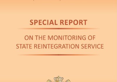 Special Reports on the Monitoring of State Reintegration Service