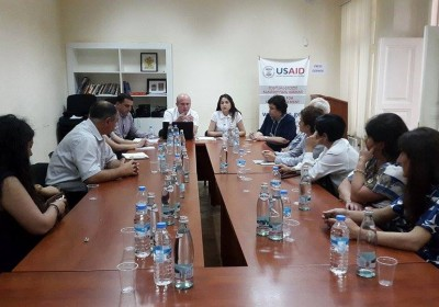 Meeting of Regional Department and National Prevention Mechanism with Non-governmental Organizations and Lawyers of Kakheti