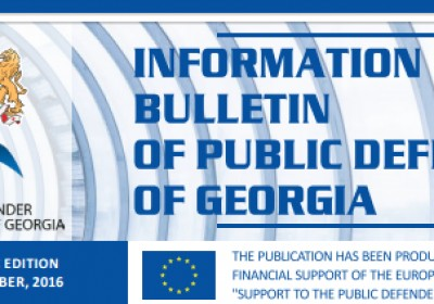 Bulletin, Periodic Edition – September,  2016