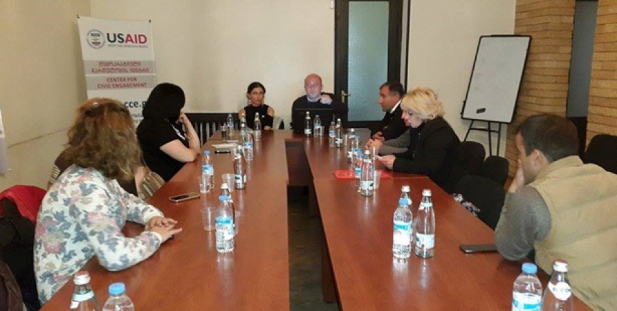NPM Members Meet NGOs and Lawyers in Samtskhe-Javakheti Region