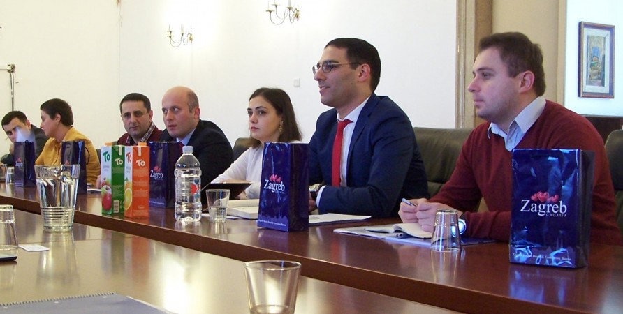 Working Visit of Representatives of Public Defender's Department of Prevention and Monitoring to Croatia