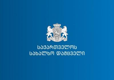 Обращение Народного защитника Грузии в связи с задержанием Тамар Меаракишвили
